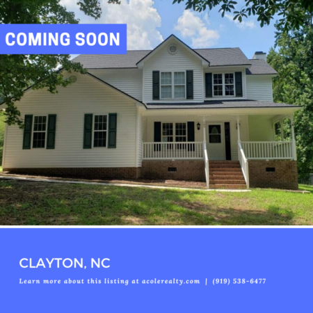 *COMING SOON* Newly updated home sitting on a 1 acre lot in Clayton!