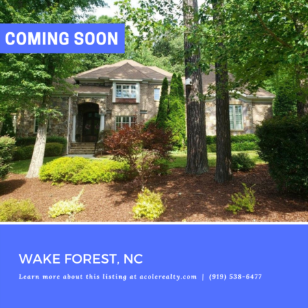 *COMING SOON* Hasentree in Wake Forest!