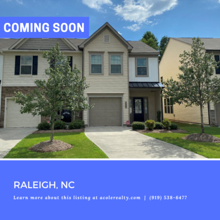 *COMING SOON* Incredible End Unit Townhome with one car Garage!