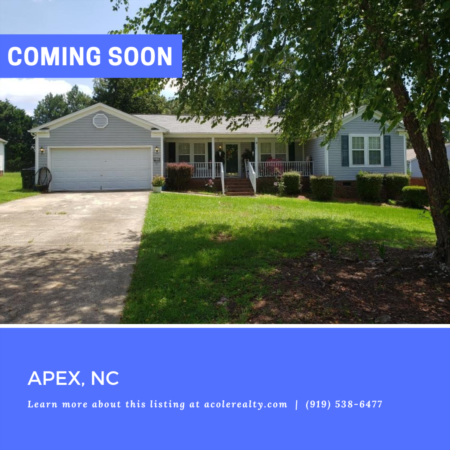 *COMING SOON* Amazing opportunity awaits in the community of Lexington Farms.