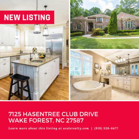 *NEW LISTING* Immaculately maintained all brick luxury home in the stunning, amenity-rich community of Hasentree!