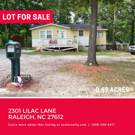 *COMING SOON* Prime location off Creedmoor Road.