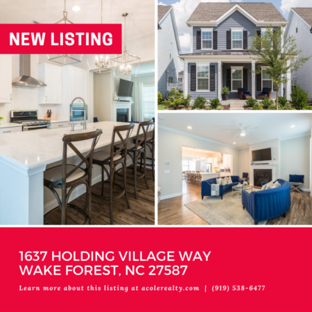 *NEW LISTING* Exquisite 'Like New' Home, located in Wake Forest