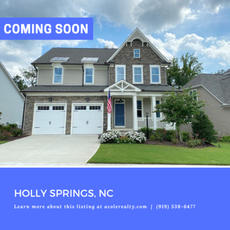 *COMING SOON* Southern Living at its Finest in 12 Oaks Community!