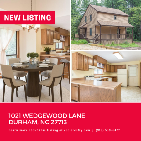 *NEW LISTING* This cedar siding home sits on an open, secluded, wooded lot.