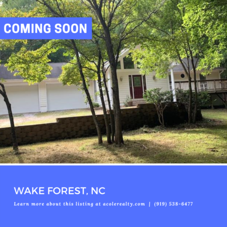 *COMING SOON* Highly sought-after Ranch Home on .92 acre lot!