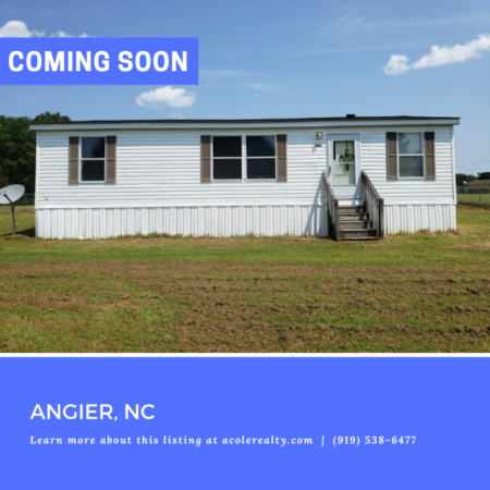 *COMING SOON* Excellent opportunity in the popular McGees Crossroads area of Johnston County.