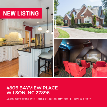 *NEW LISTING* Exquisite All Brick Lake Front Home on Lake Wilson.