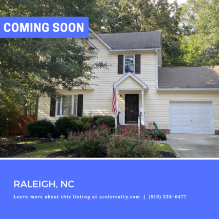 *COMING SOON* Be the first to know! For more details on this Raleigh, NC listing
