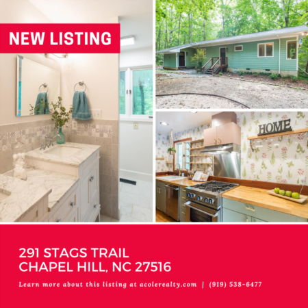 *NEW LISTING* Spectacular views! Follow the stream through 11 acres of hardwoods