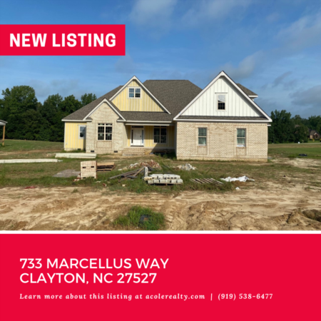 *NEW LISTING* New Construction in Golf Course Community in Clayton!