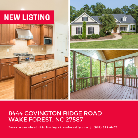 *NEW LISTING* Don't miss out on this amazing opportunity in WF!!