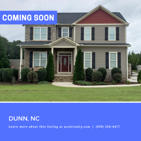 *COMING SOON* This immaculate home has tons of storage space and privacy!