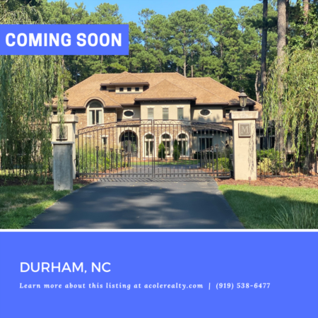 *COMING SOON* Stunning estate home on six acres in the prestigious gated community of The Hills of Rosemont.