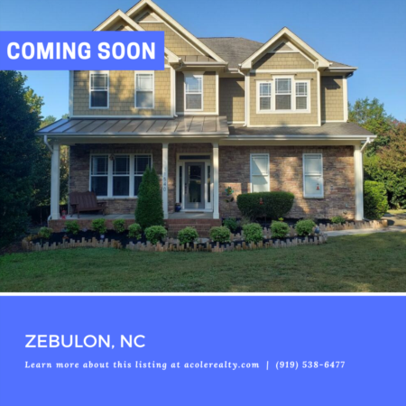 *COMING SOON* Country setting on almost 2 acres w/ easy access to I-40/540/440.