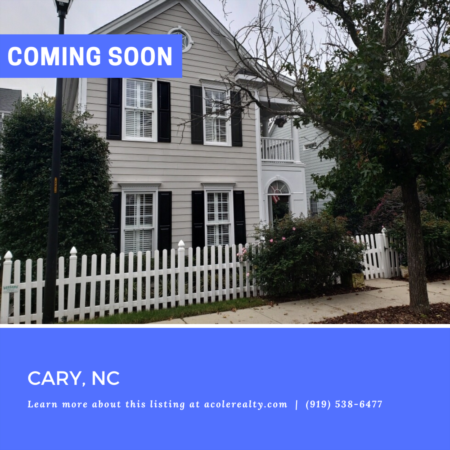 *COMING SOON* Look no further! This charming white picket fence home has it all.