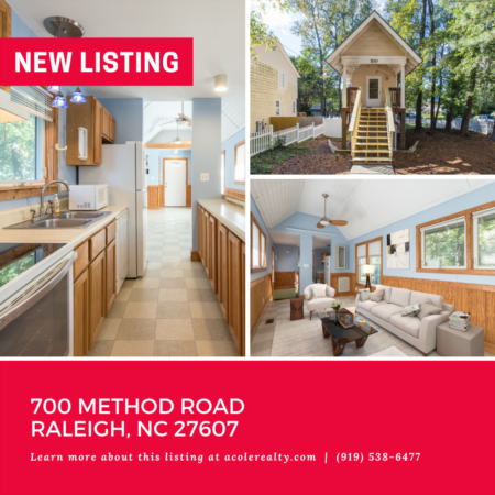 *NEW LISTING* This adorable 'Tiny Home' lies inside the beltline and is close to shopping, restaurants, colleges, universities, parks, and downtown.