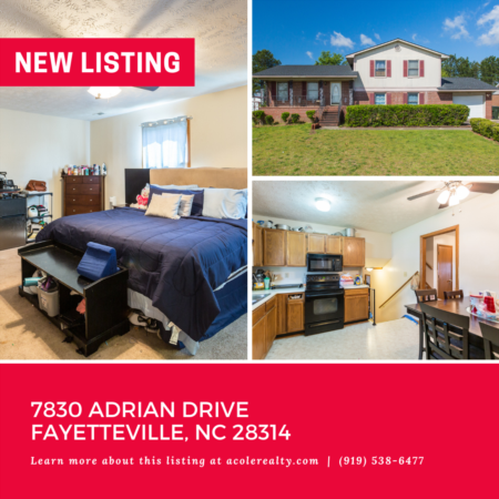 *NEW LISTING* *NEW LISTING* Split Level Home in Fayetteville, NC with huge fenced yard and patio perfect for entertaining!