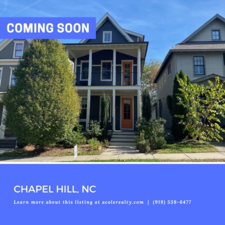 *COMING SOON* Beautiful Home w/ 2 Story Front Porch in Chapel Hill!