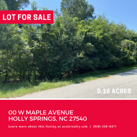 *NEW LISTING* Own a piece of downtown Holly Springs!