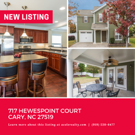 *NEW LISTING* Great Cary Location with tons of Curb Appeal!