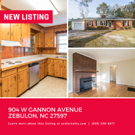 *NEW LISTING* All Brick Ranch Home on almost a half acre in a convenient location