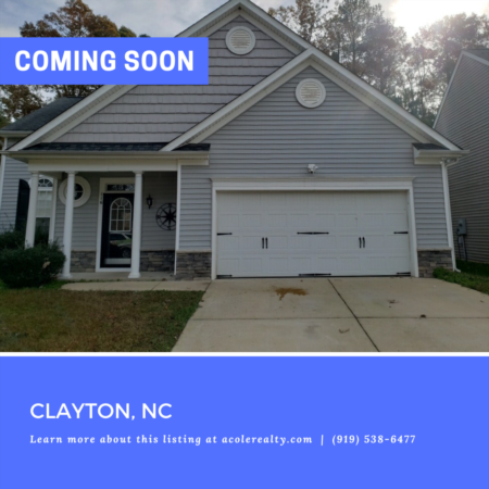 *COMING SOON* Prime Clayton Location in the highly sought after community of Riverwood Athletic Club.