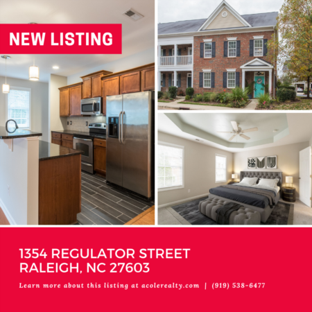 *NEW LISTING* End Unit Townhome in Renaissance Park