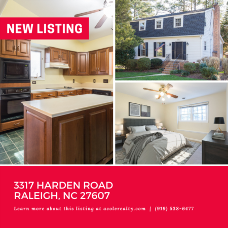 *NEW LISTING* Prime Raleigh location in the serene neighborhood of Meredith Woods!
