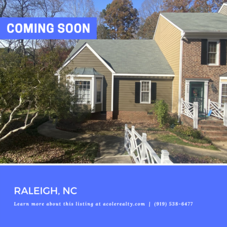 *COMING SOON* Convenient location in the highly desirable Brittany Woods Community!