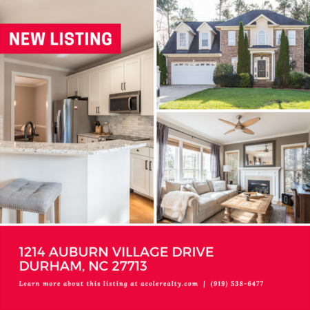 *NEW LISTING* Convenient location to RDU, RTP, I-40, Duke, UNC, restaurants, and shopping. Won't last long!
