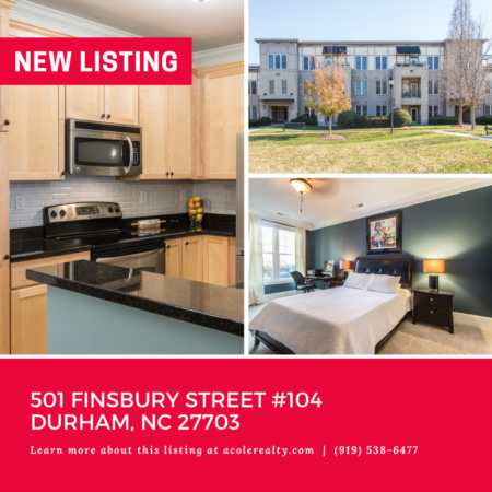 *NEW LISTING* Spectacular location in the heart of Research Triangle