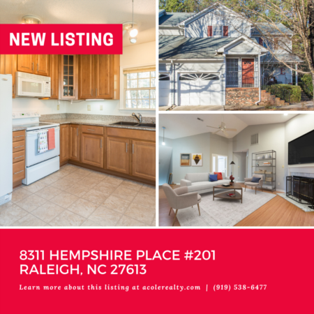 *NEW LISTING* 2nd Floor End Unit Condo!