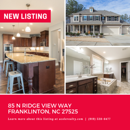 *NEW LISTING* This immaculate home has it all!