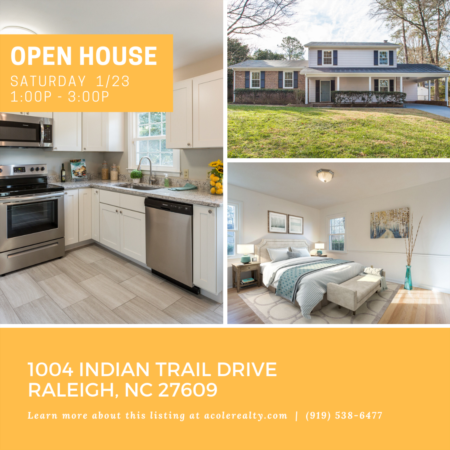 Open House: Saturday, January 23, 2021 from 1:00 PM - 3:00 PM