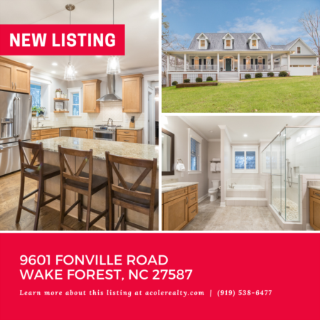 *NEW LISTING* Private retreat tucked off Falls of Neuse Rd & close to 540.