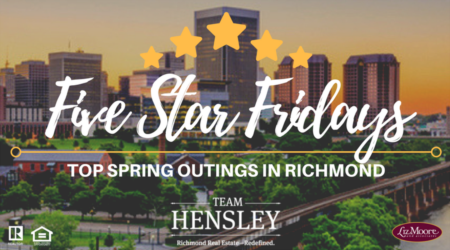 Top Spring Outings in Richmond