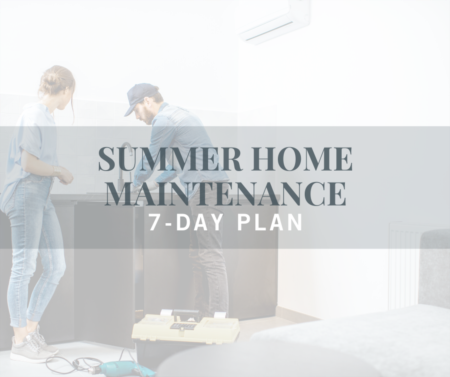 Summer Home Maintenance