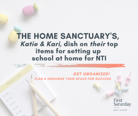 Organize your Home-School/NTI Space!