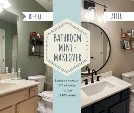 Bathroom Mini-Makeover