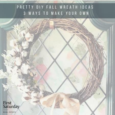 Pretty DIY Fall Wreath Ideas: Three Ways to Make your Own