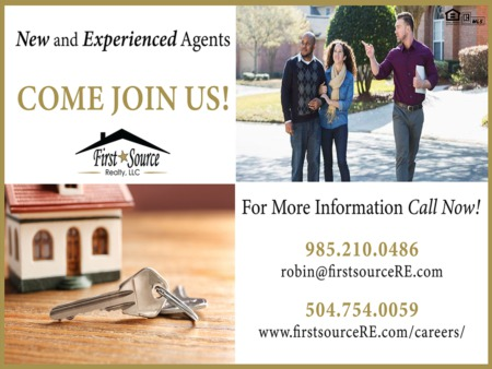 New and Experienced Real Estate Agents Come Join Us!