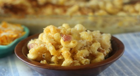 """Big Kid' Cavatappi Mac and Cheese"