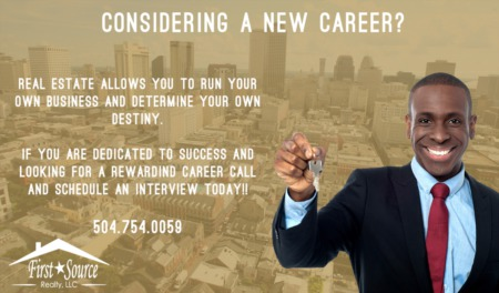 Considering A New Career in Real Estate?