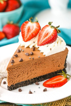 No-Bake Chocolate Cheesecake Recipe