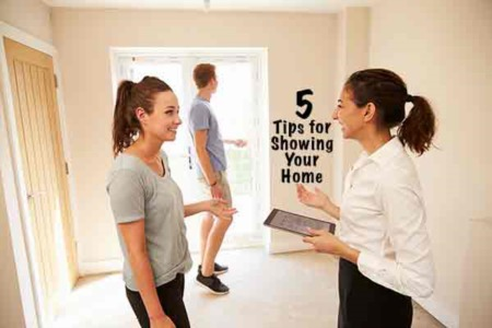5 Tips for Showing Your Home to a Potential Buyer