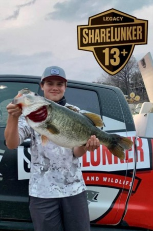 15 Pound Bass found on Lake Travis