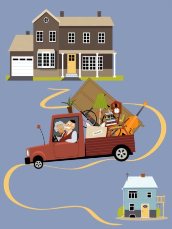 Tips for Downsizing After Retirement