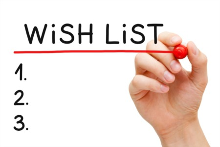 Start Your Home Buying Experience with a Wish List