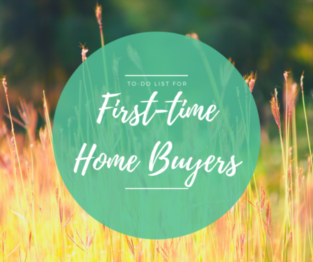 To-Do List For First-Time Buyers